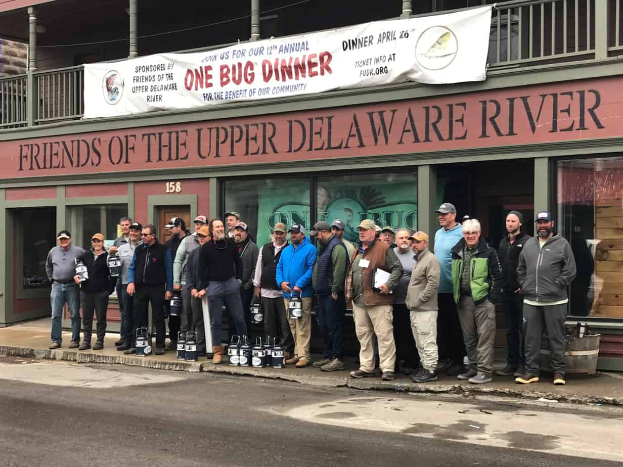 Here are all, or most of the guides for the One Bug trout fishing competition. PHOTO BY MEG MCGUIRE